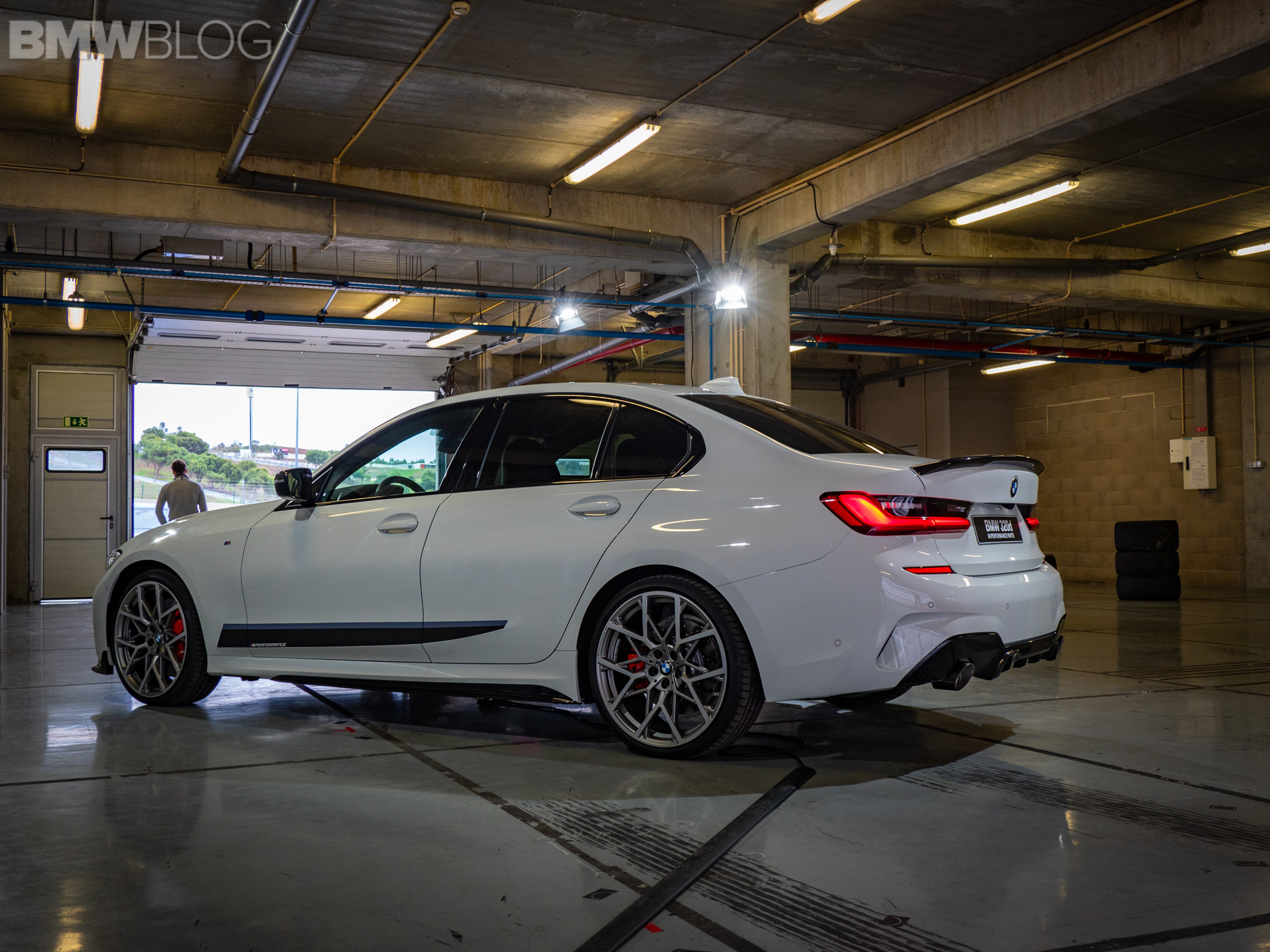 Bmw Reversing Assistant In The New 2019 3 Series Live Demo