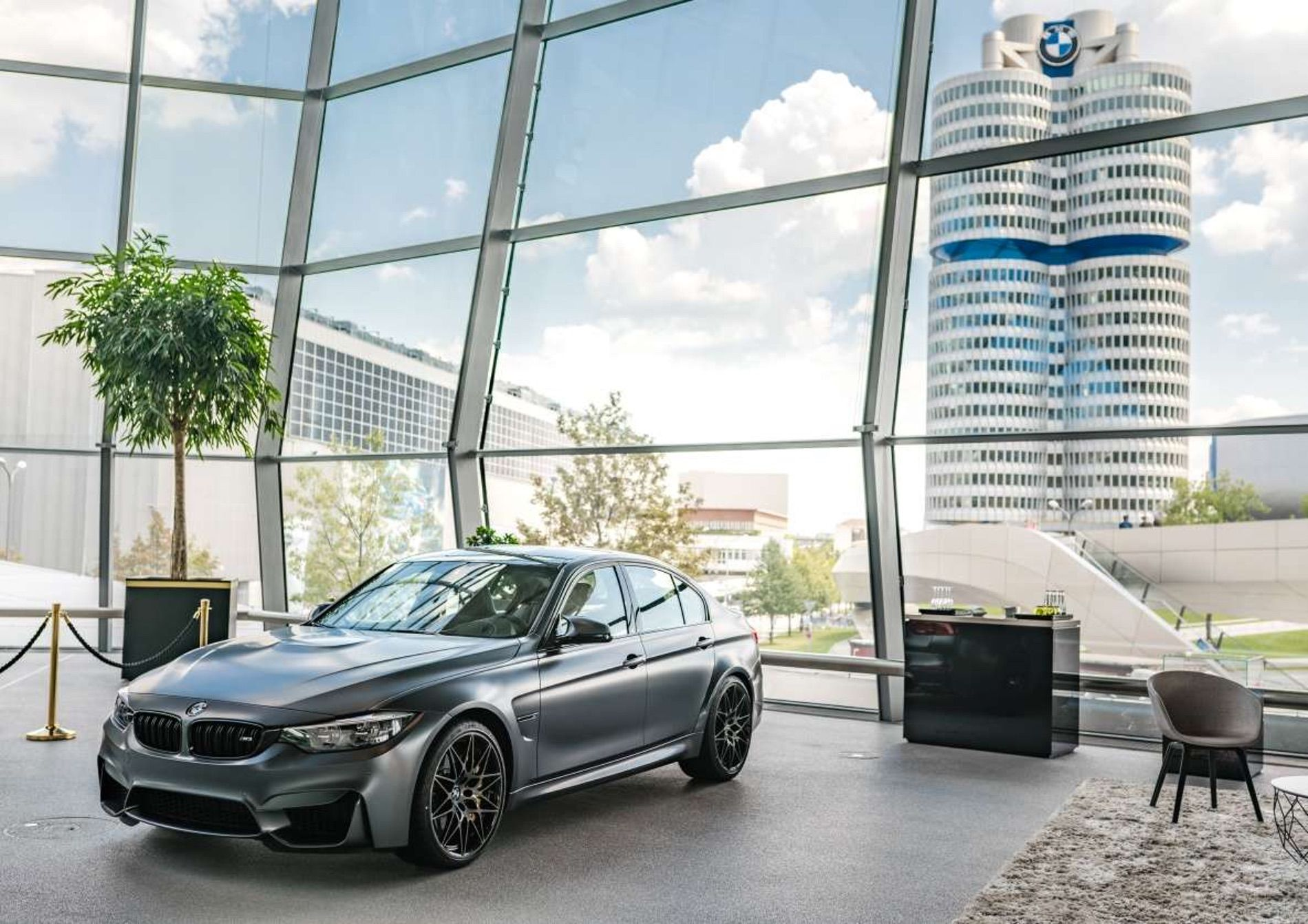 Last Bmw M3 F80 For Europe Comes From Bmw Individual In Frozen Dark Grey