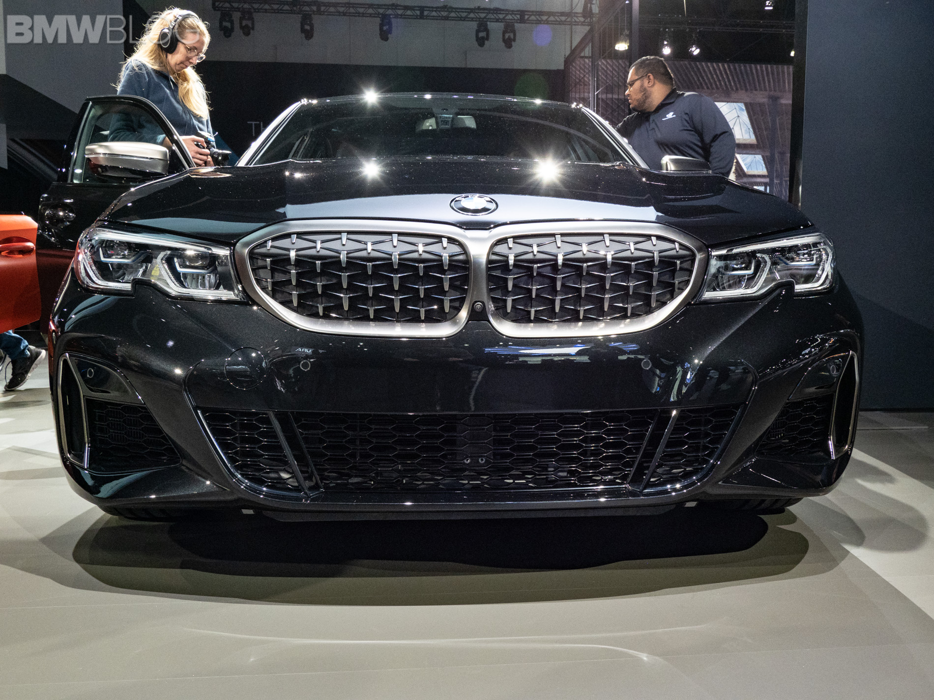 2018 la auto show g20 bmw m340i makes world debut. Black Bedroom Furniture Sets. Home Design Ideas