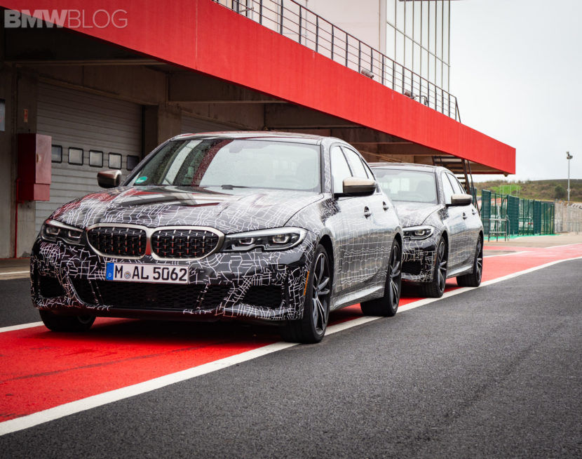 BMW M340i prototype 1 830x654