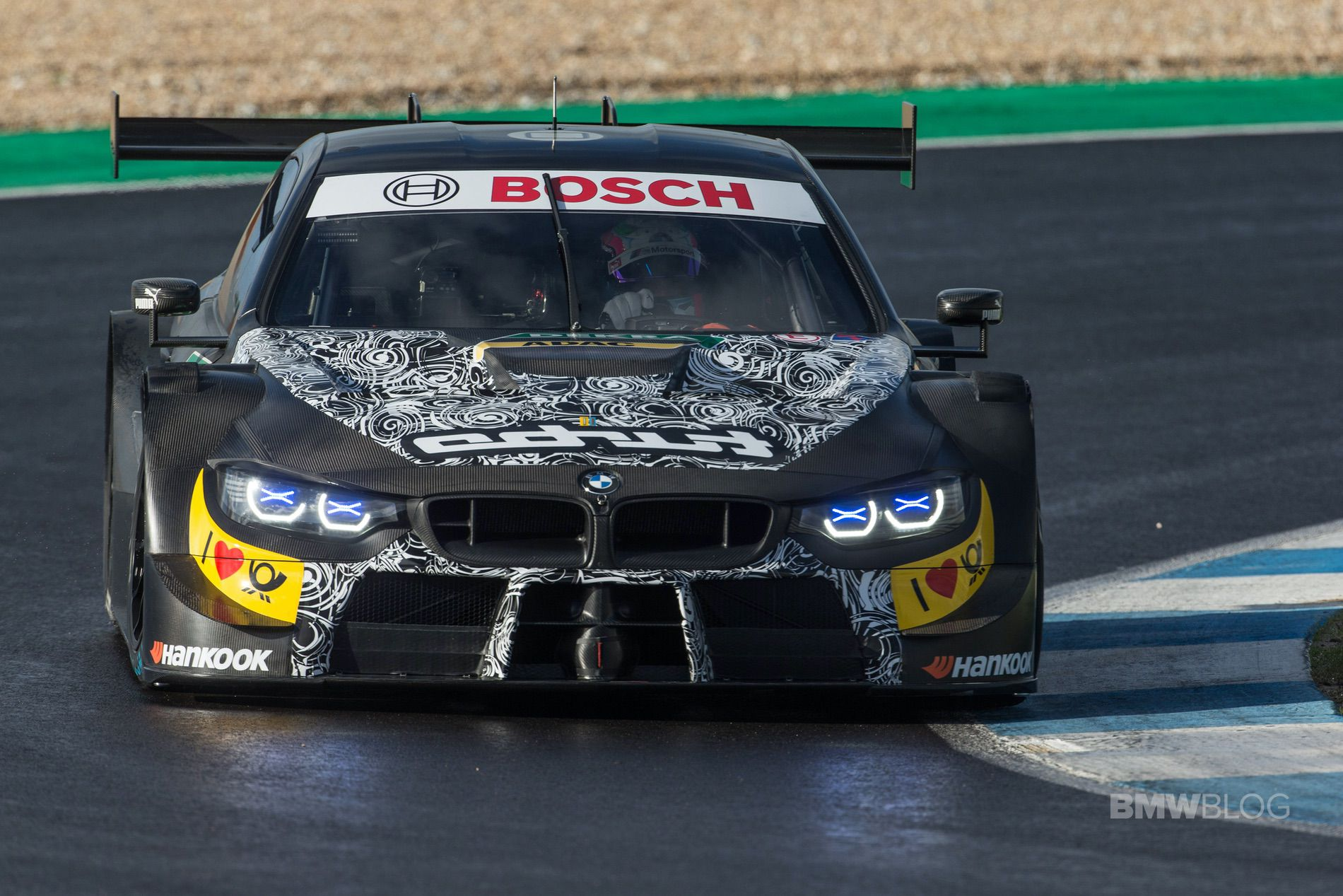 BMW M Motorsport completes first test with the new 2019 ...