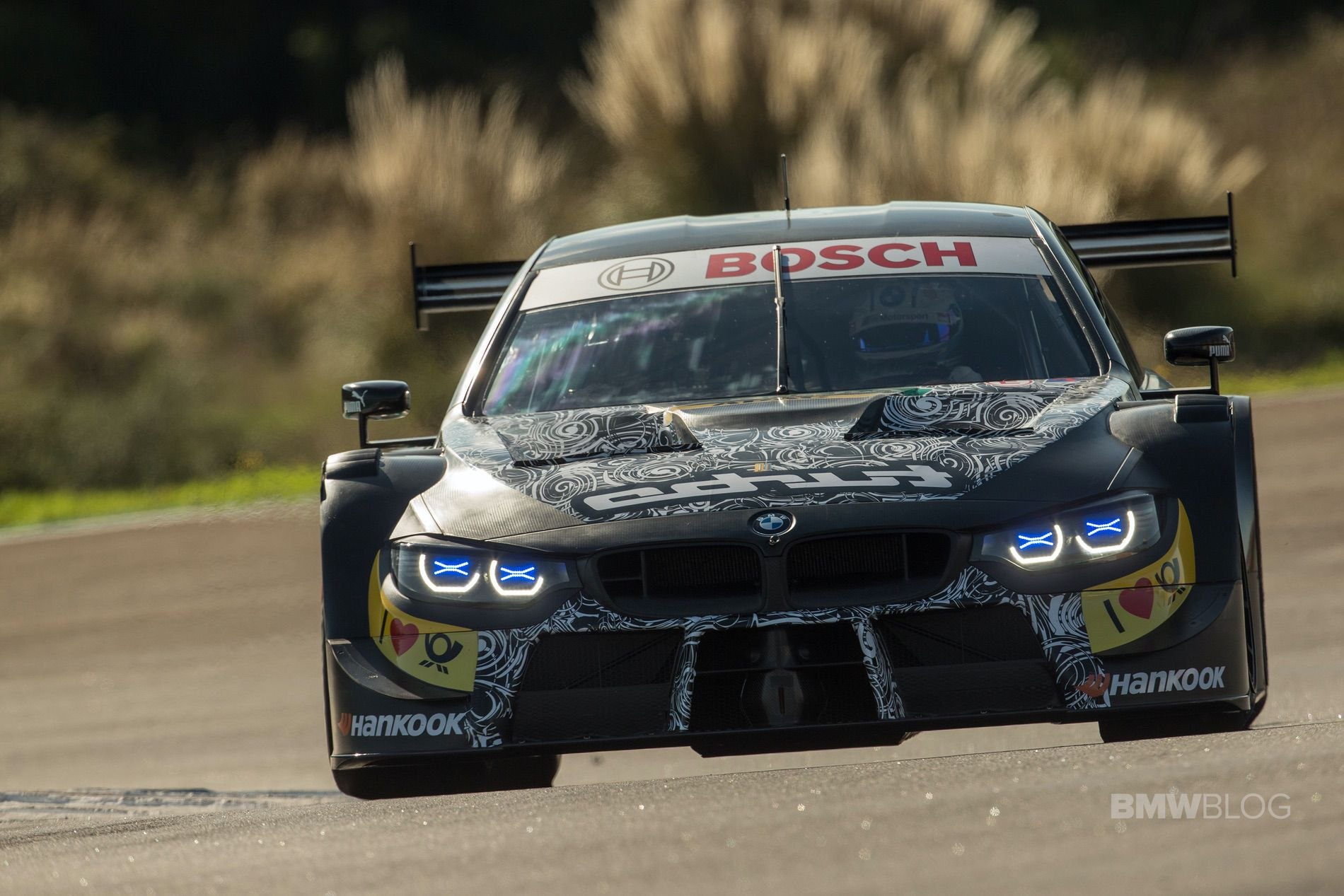 Bmw M Motorsport Completes First Test With The New 2019 Season Bmw