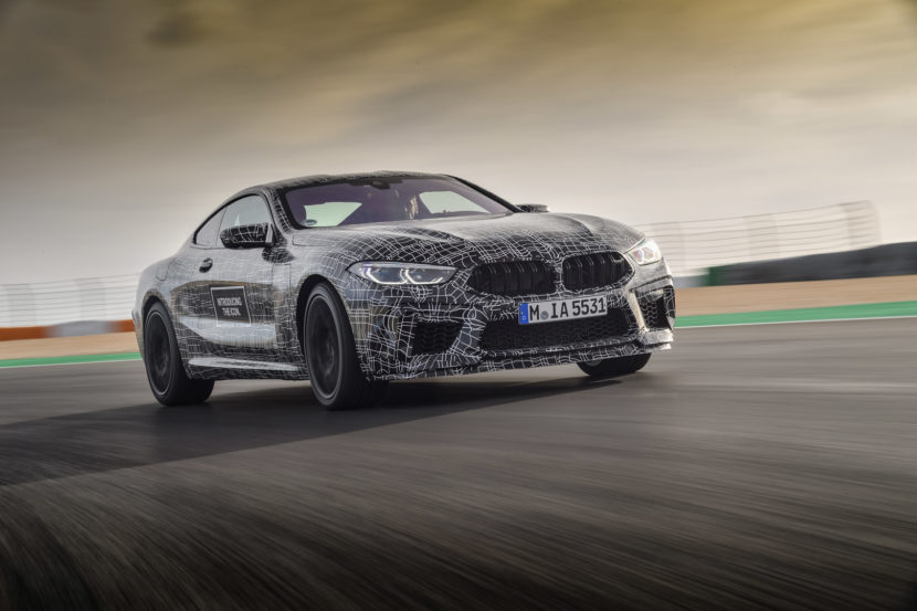 New BMW M8 Confirmed With Over 591HP V8 And AWD