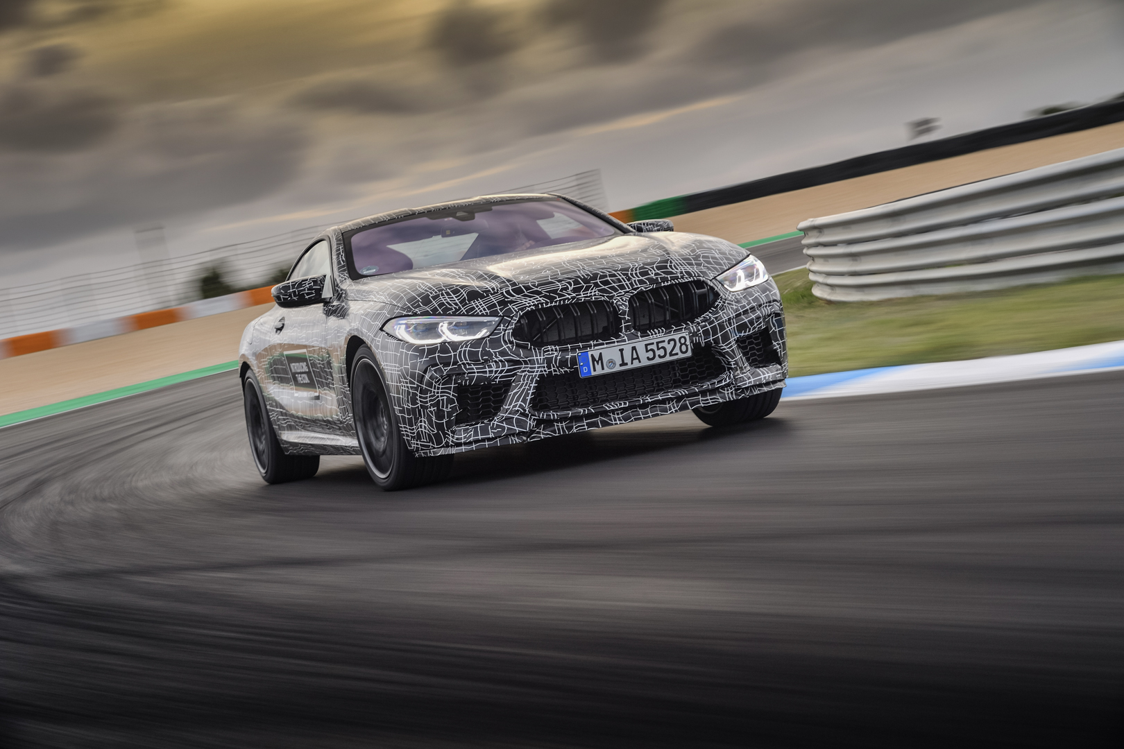 Autocar goes for a ride along in the BMW M8