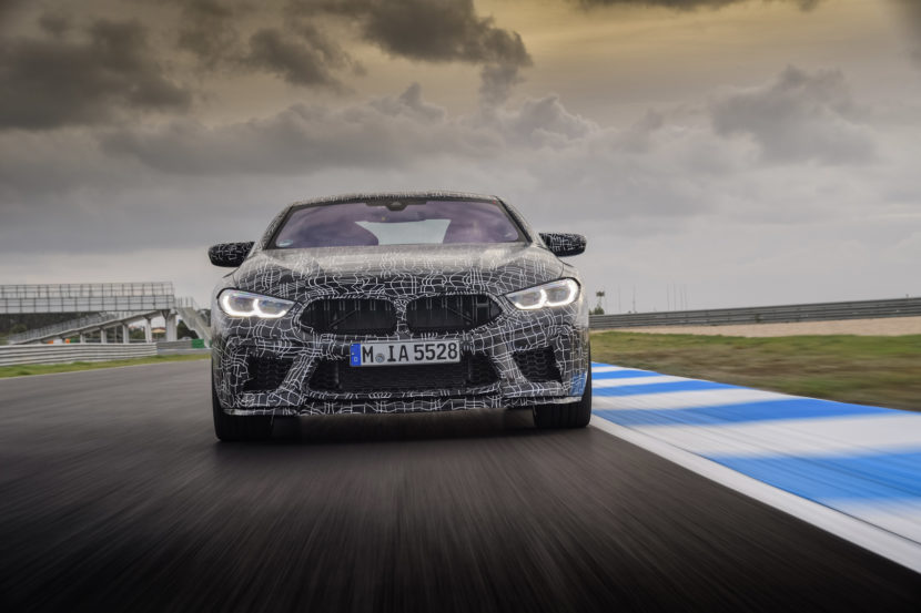 Spied Bmw X5 M And Bmw M8 Convertible Caught Having Some Fun