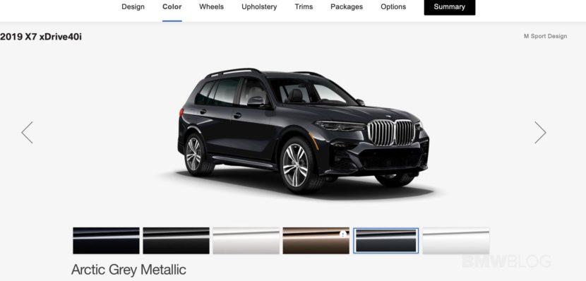 BMW X7 configurator 01 830x398