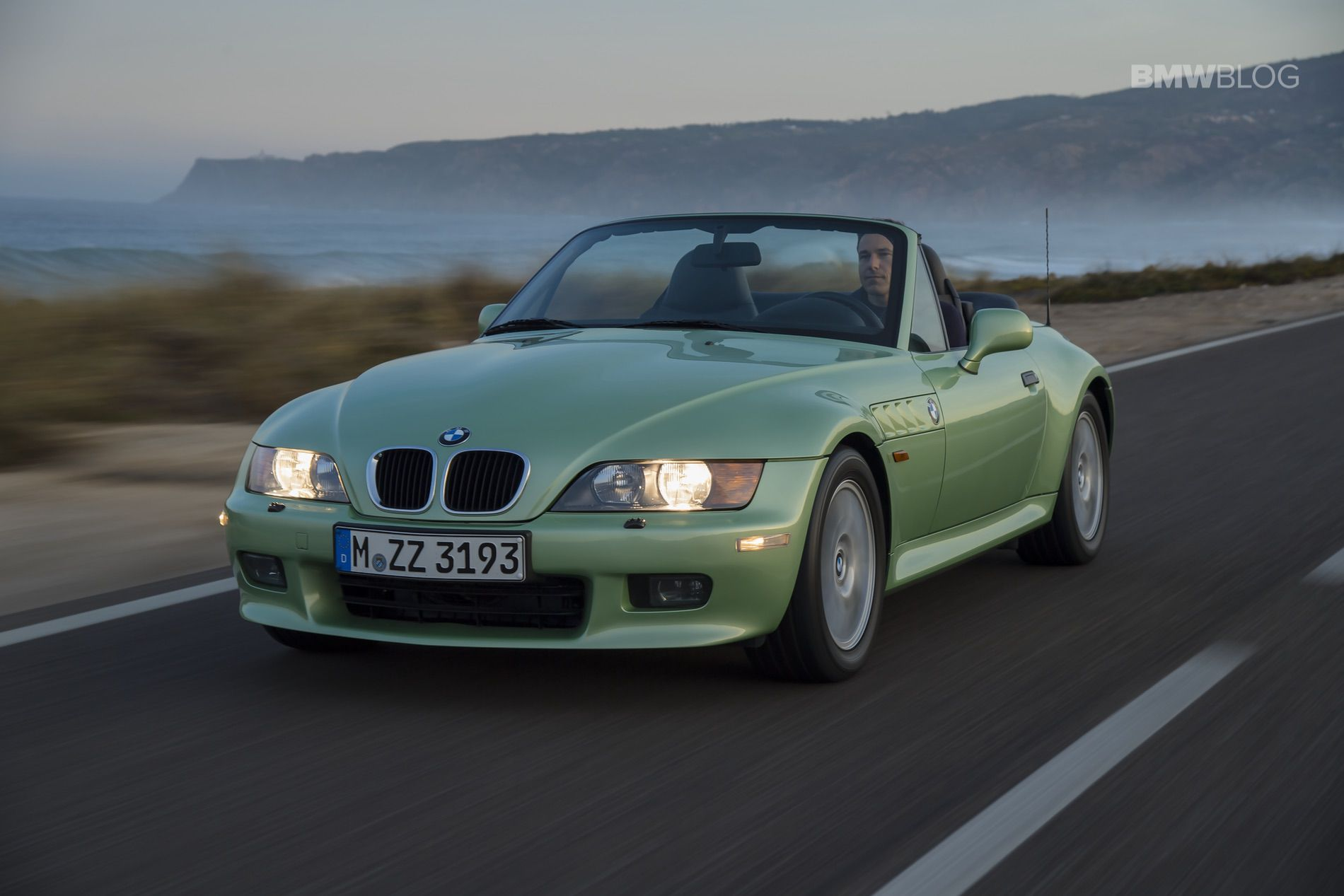 BMW Z3 palmetto green 01