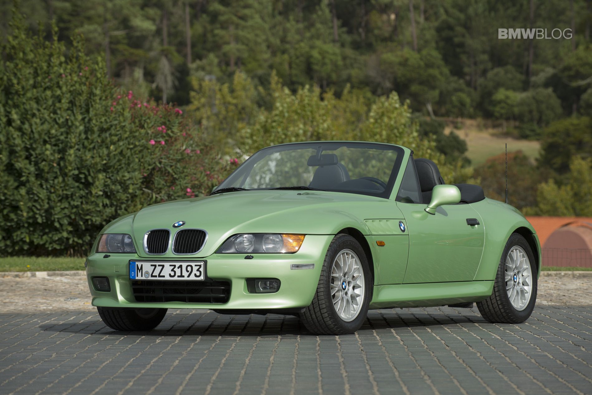BMW Z3 palmetto green 17
