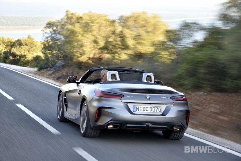 BMW Z4 M40i test drive 74 830x554