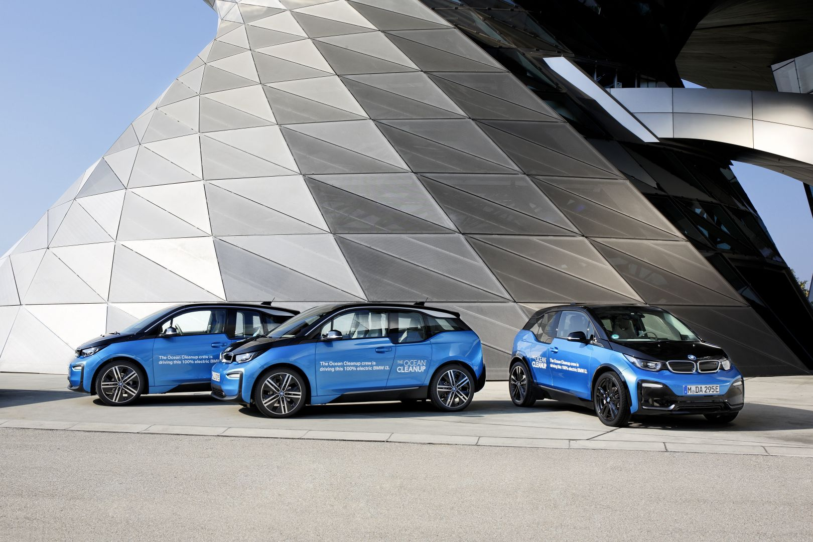 BMW i3 for The Ocean Cleanup Initiative 1