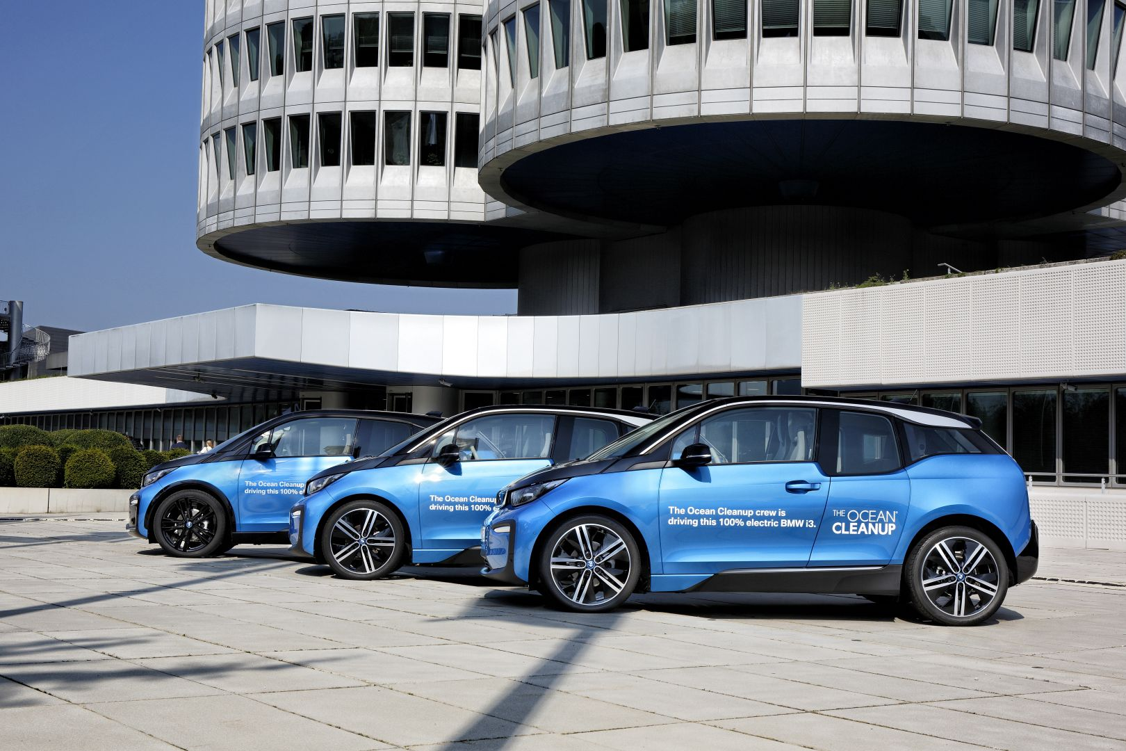 BMW i3 for The Ocean Cleanup Initiative 4