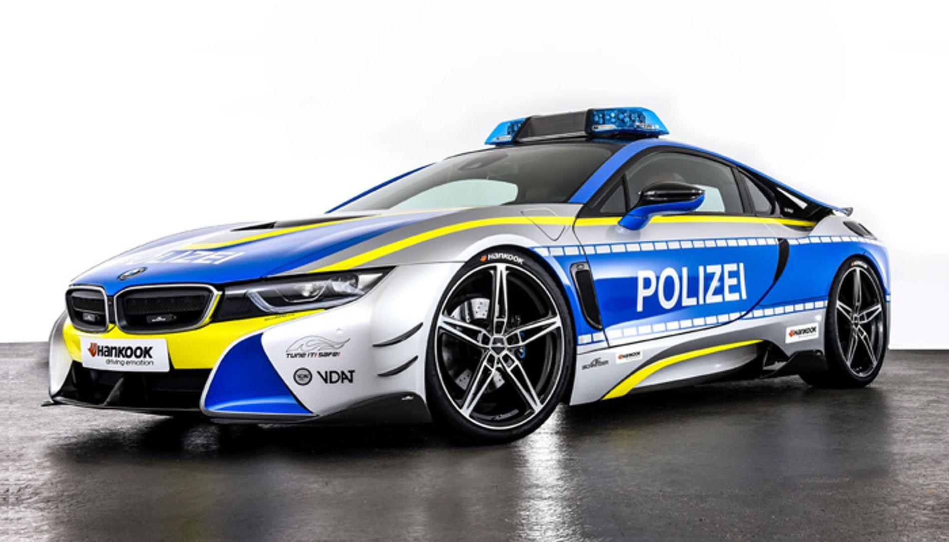 BMW i8 AC Schnitzer Police Car 03