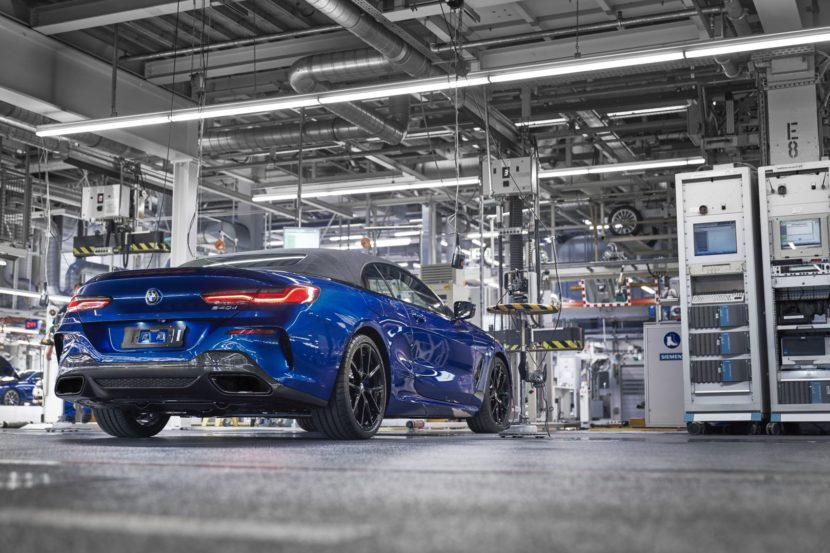First BMW 8 Series Convertible Leaves Dingolfing 3 830x553