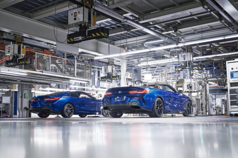 First BMW 8 Series Convertible Leaves Dingolfing 5 830x553