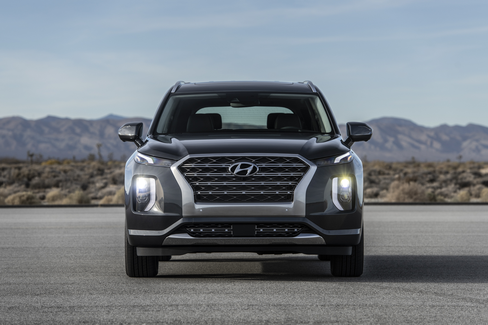 2018 La Auto Show Hyundai Palisade Budget Three Row Beast