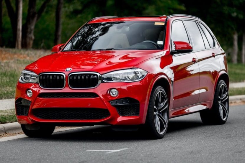 Stunning 2016 Bmw X5 M In Melbourne Red Metallic Is Up For