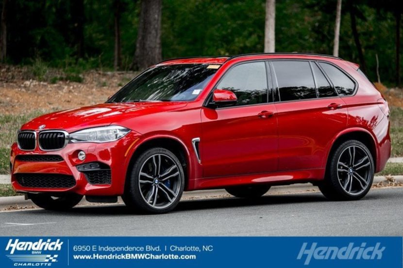 2016 BMW X5M Melbourne Red 02 830x553