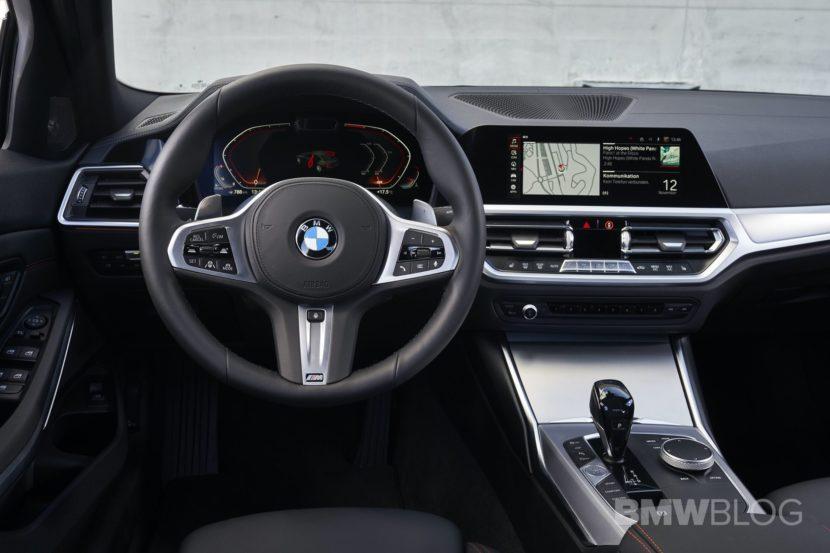 2019 BMW 320d G20 test drive 103 830x553