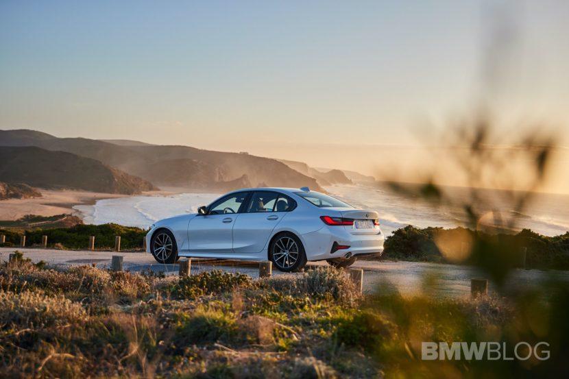 2019 BMW 320d G20 test drive 24 830x553
