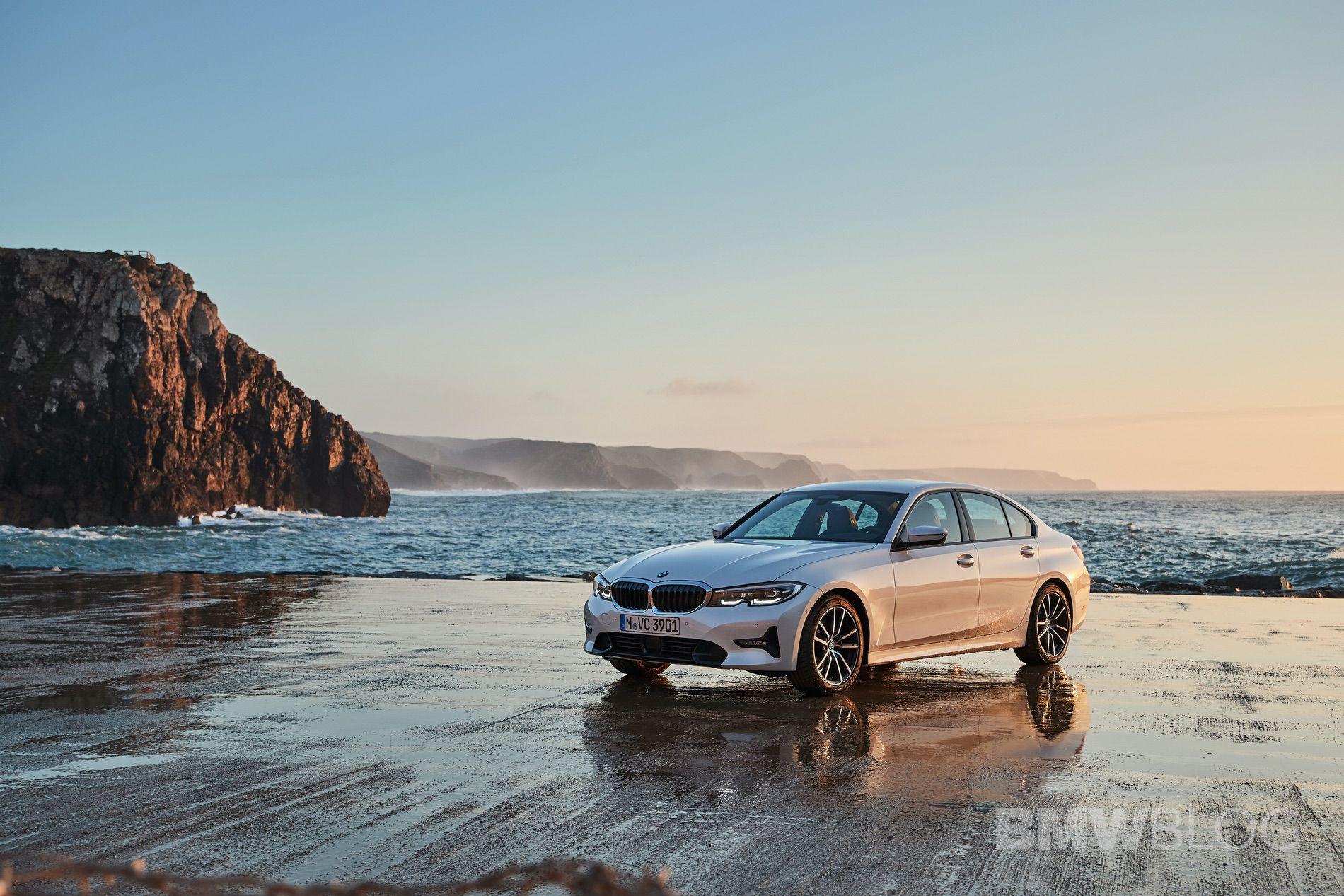 2019 BMW 320d G20 test drive 29