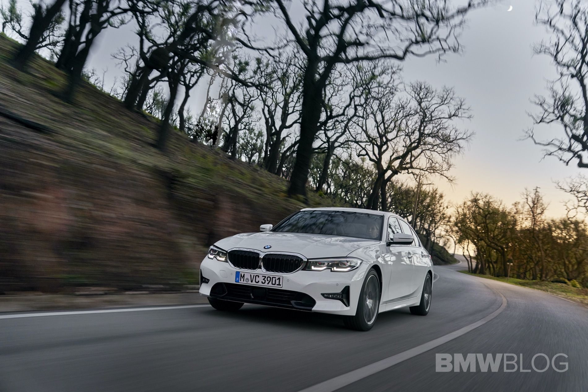 2019 BMW 320d G20 test drive 70