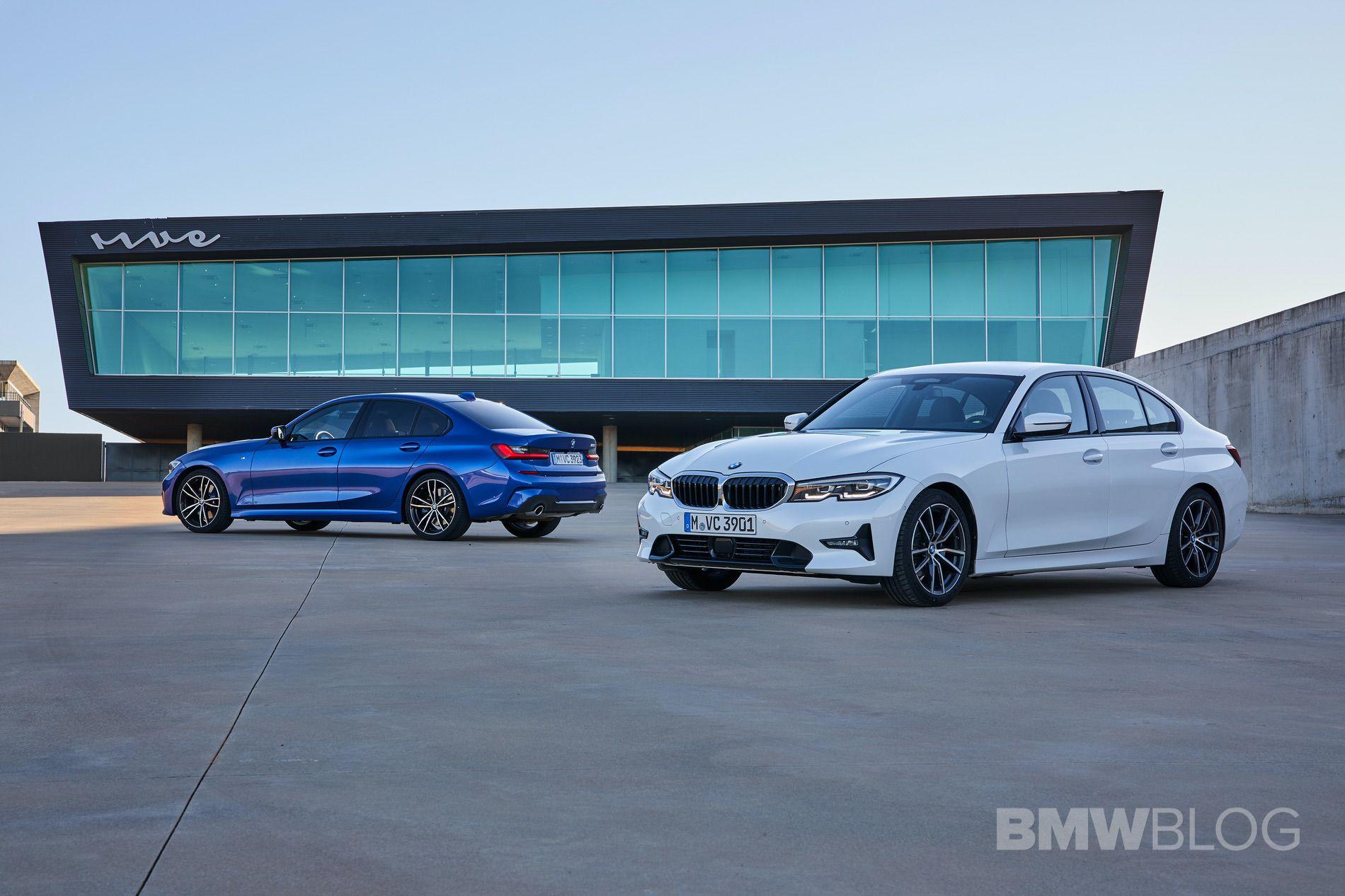 2019 BMW 320d G20 test drive 88