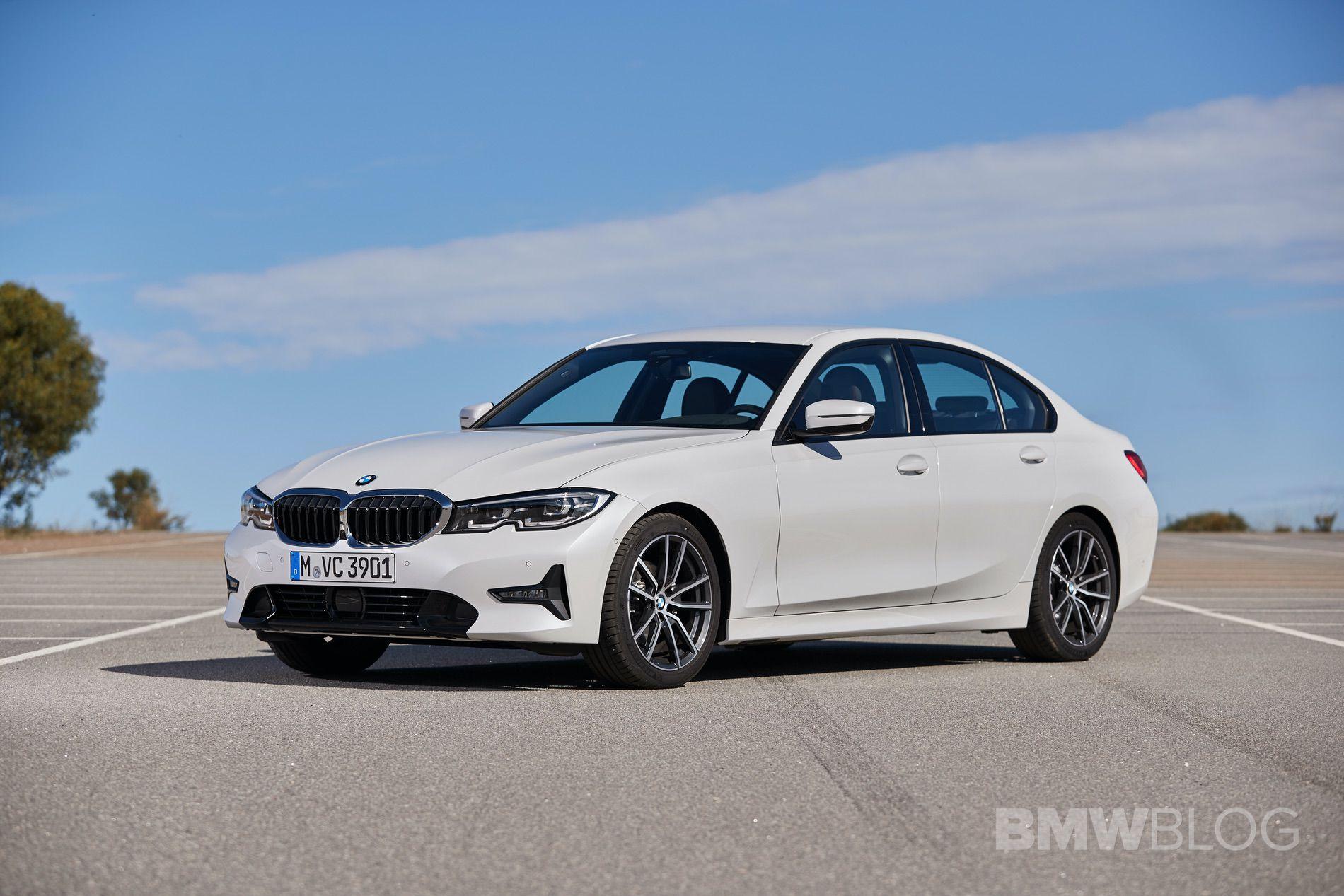 2019 BMW 320d G20 test drive 91