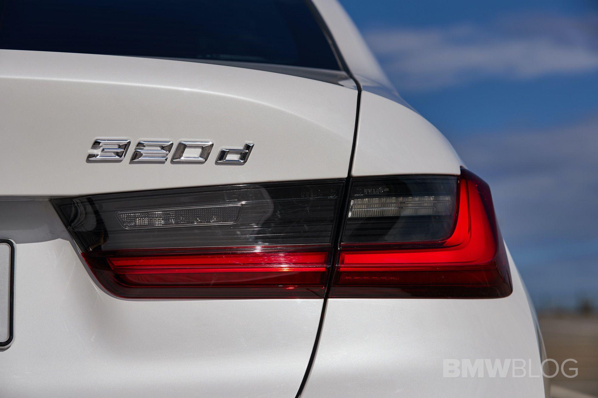 2019 BMW 320d G20 test drive 97
