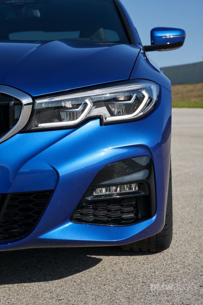 G20 BMW 3 Series headlights are throwback to E46