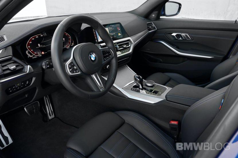 2019 BMW 330 G20 test drive 86 830x553