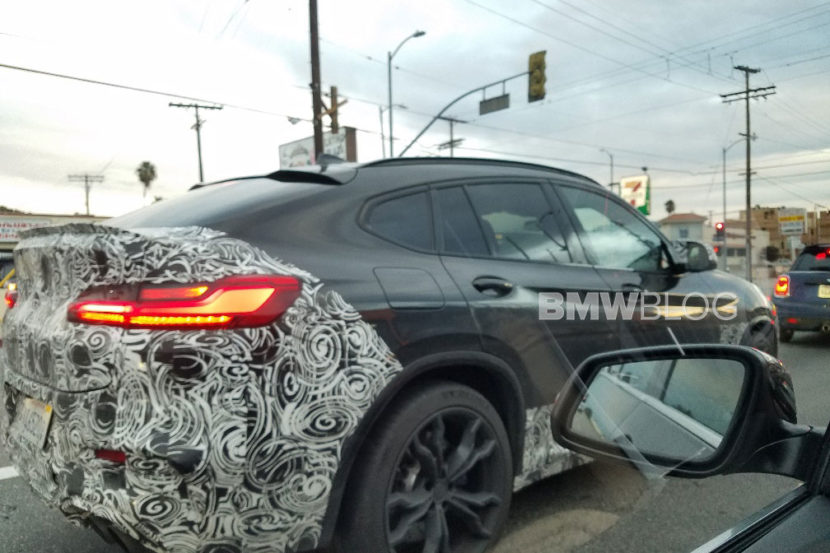 2019 Bmw X4 M Was Spotted In California