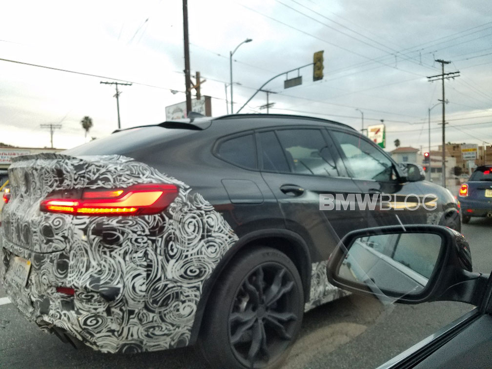 2020 BMW F96 X6 M was spotted in California