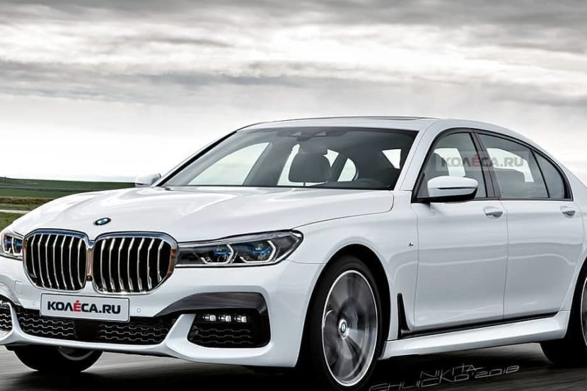 2020 Bmw 7 Series Facelift Photoshop