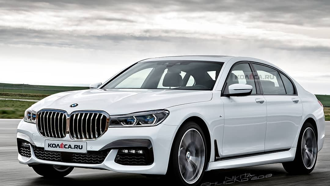 BMW 7 Series facelift 2020
