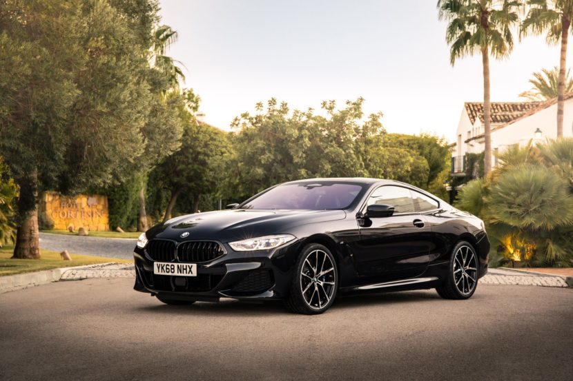BMW 8 Series Coupe Sapphire Black 09 830x553