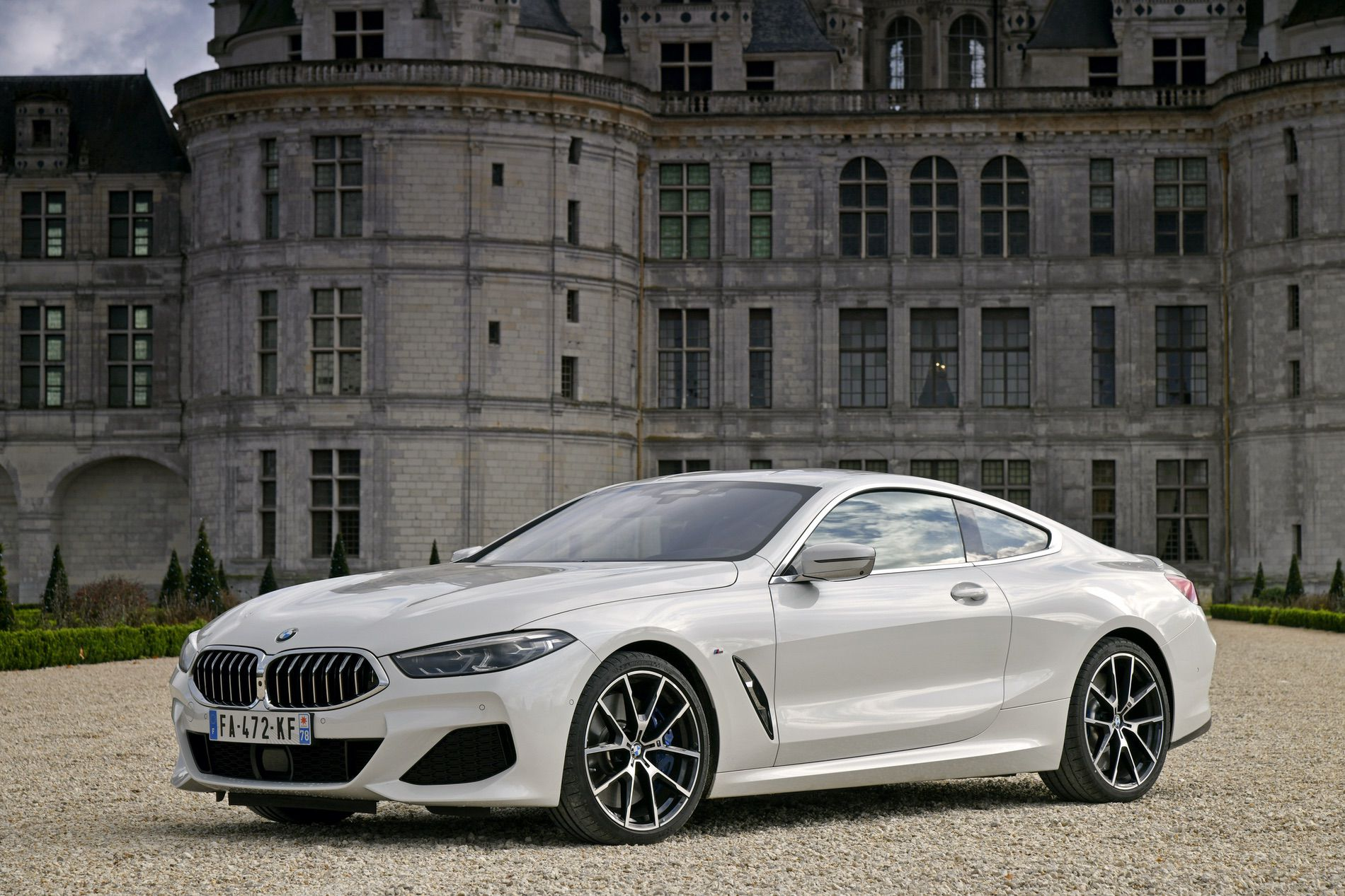 BMW 840d xDrive Mineral White 12