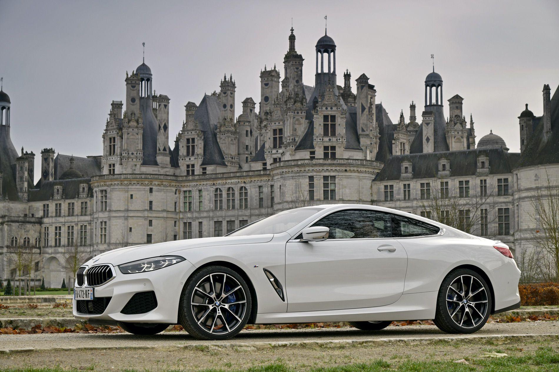 BMW 840d xDrive Mineral White 23