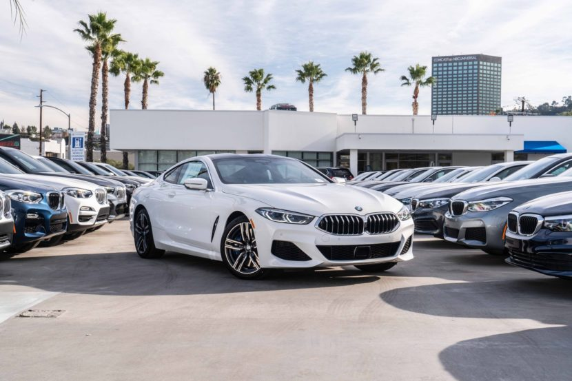 New Bmw M850i Coupe Looks Stunning In Alpine White