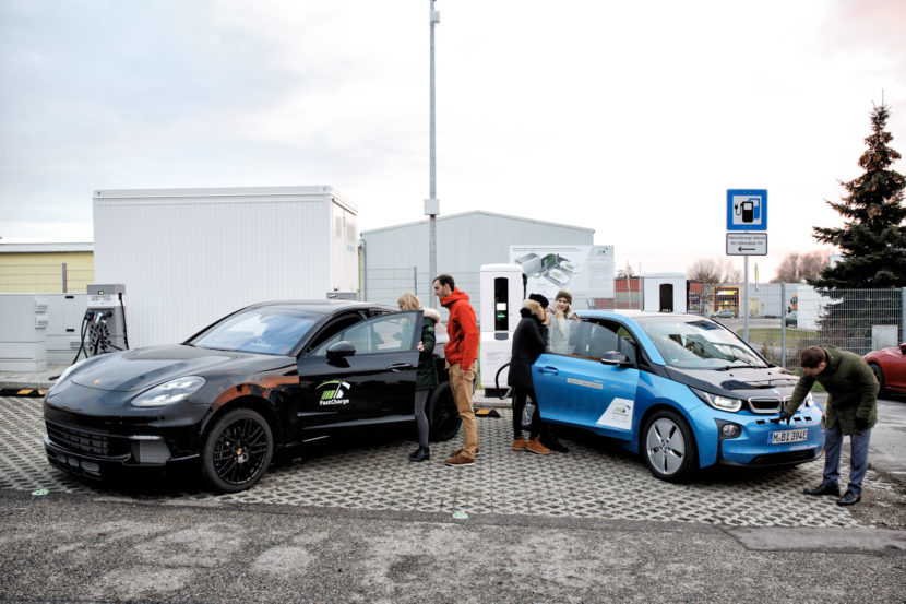 BMW, Porsche's ultrafast EV charger adds 62 miles in three minutes