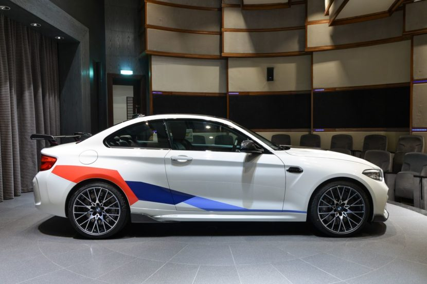 BMW M Performance Tuning M2 Competition F87 Abu Dhabi 11 830x553