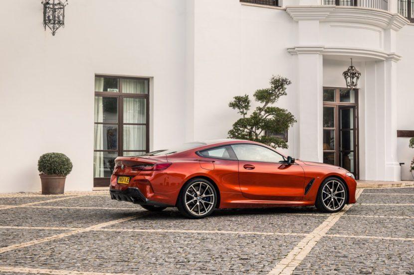 BMW M850i Sunset Orange gallery 12 830x553