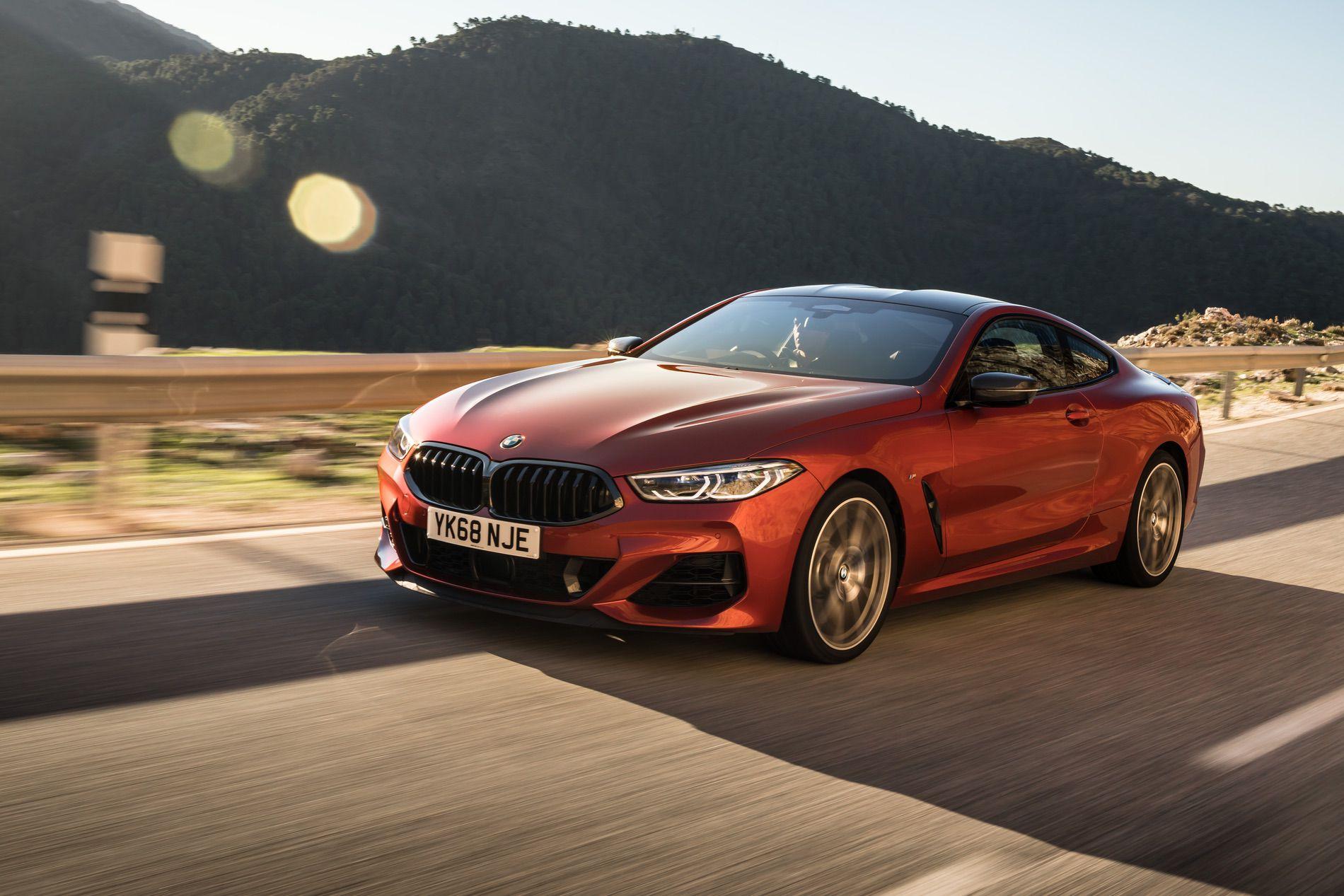 BMW M850i Sunset Orange gallery 13