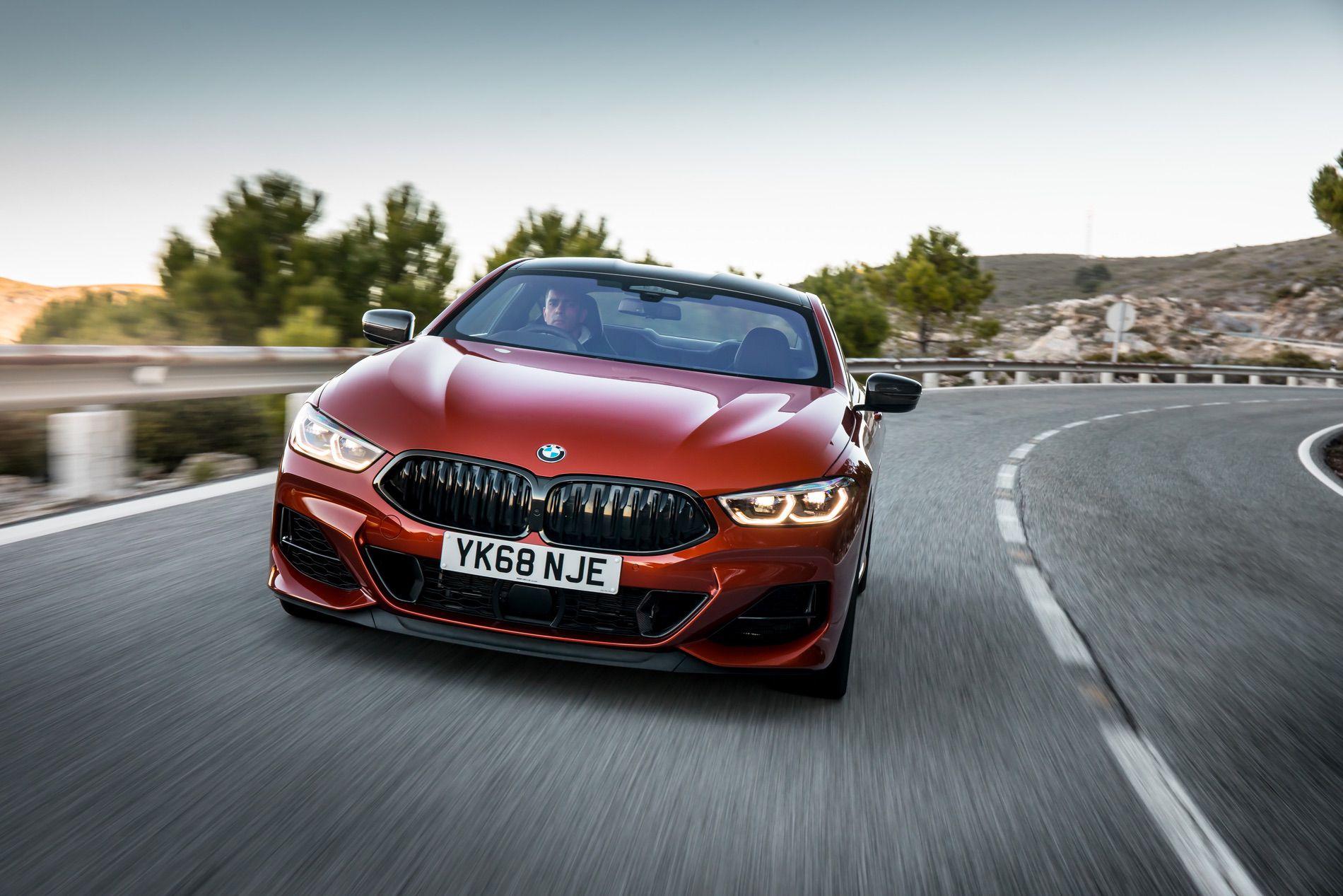 BMW M850i Sunset Orange gallery 15