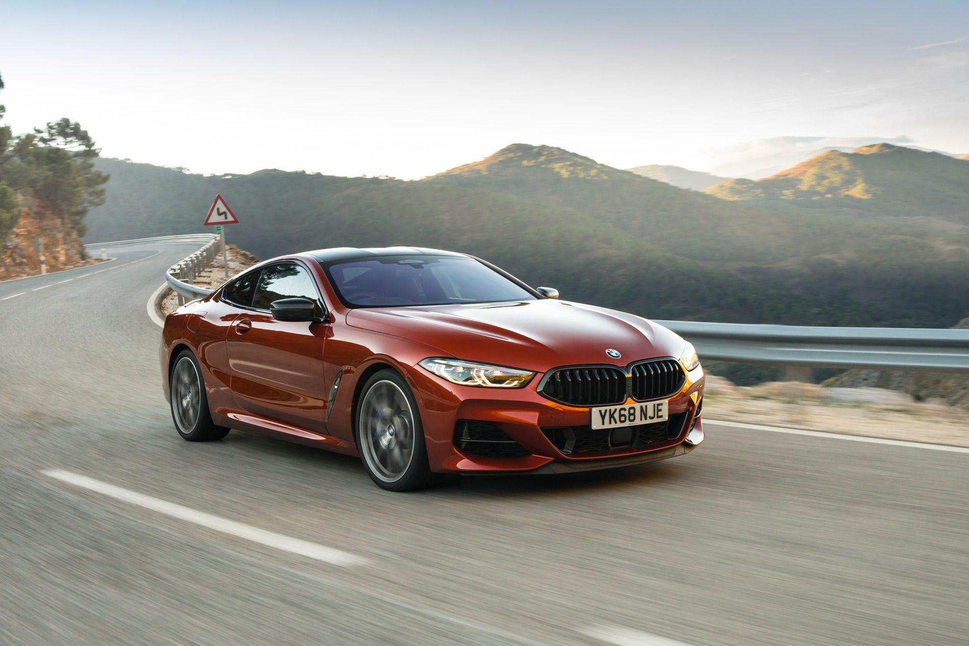 BMW M850i Sunset Orange gallery 28