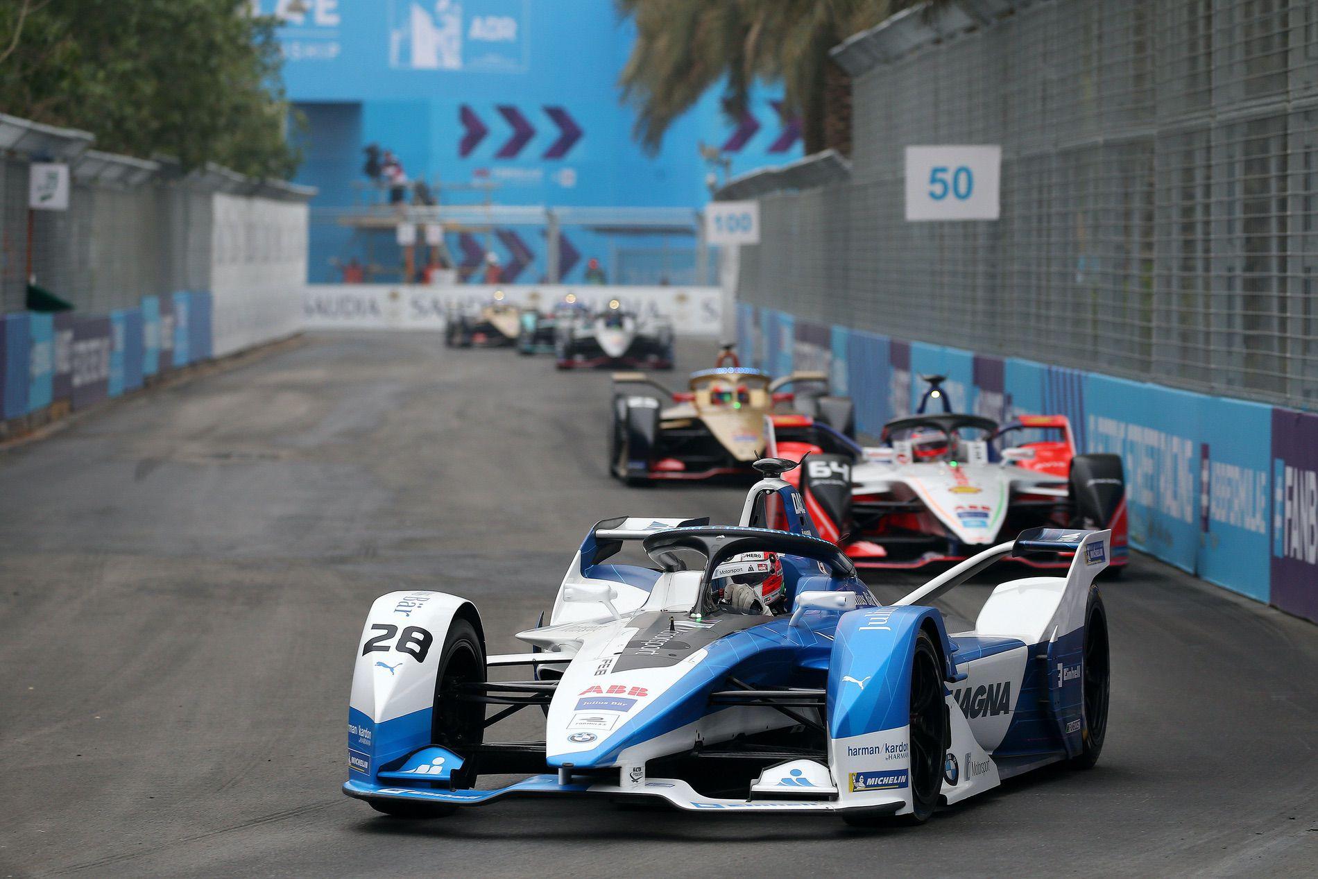 BMW i Motorsport wins its first Formula E race