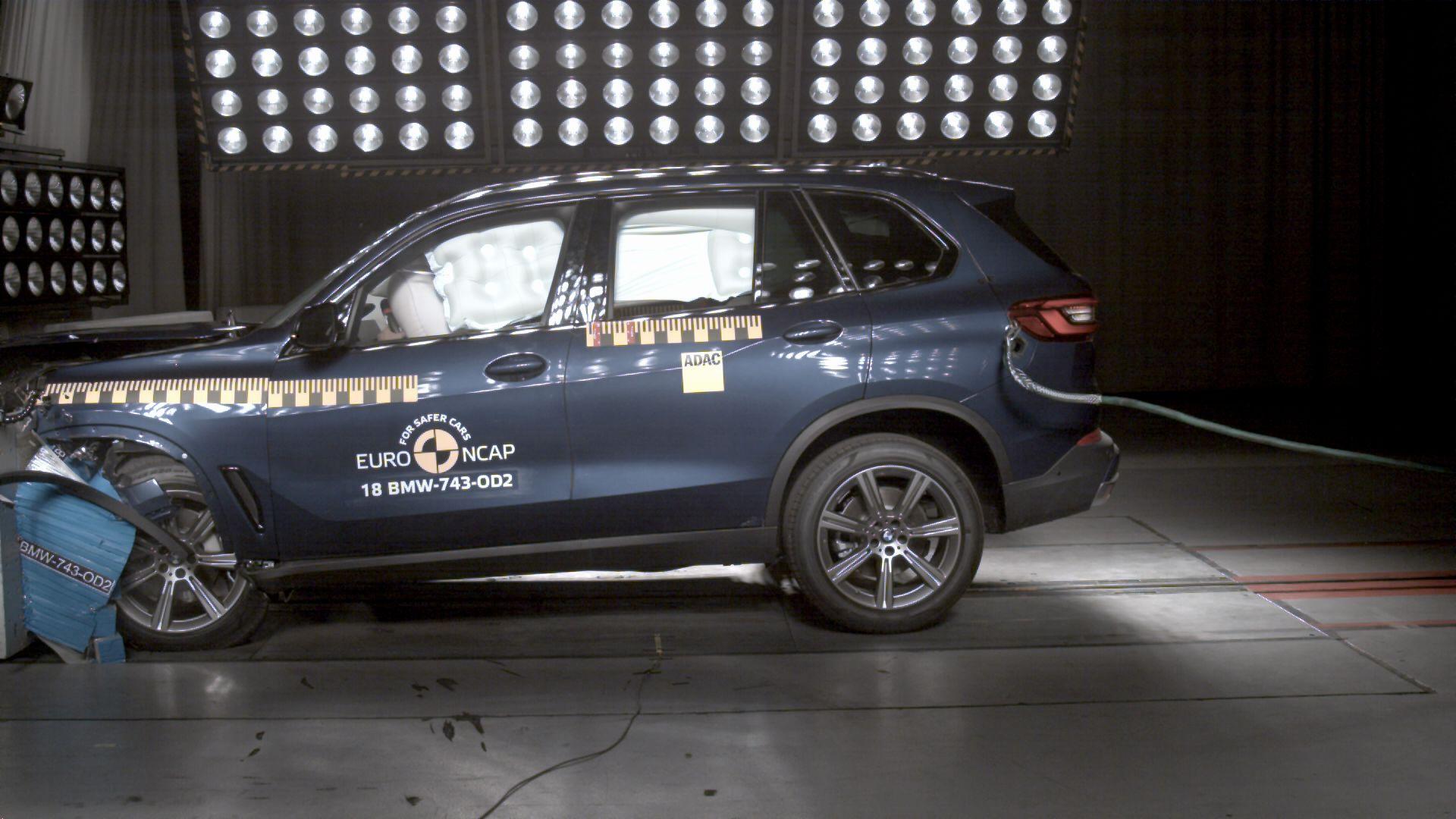 G05 BMW X5 Euro NCAP 3