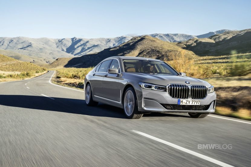 2019 BMW 7 Series Facelift exterior 04 830x553