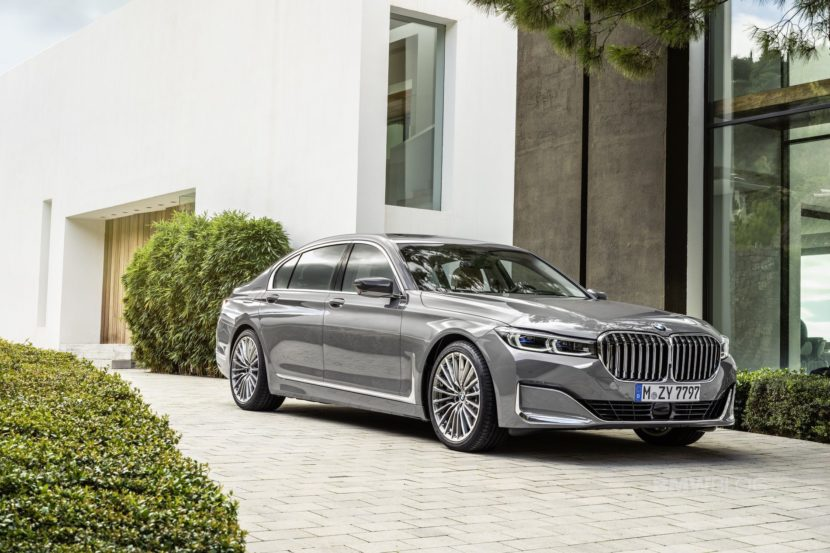 2019 BMW 7 Series Facelift exterior 19 830x553