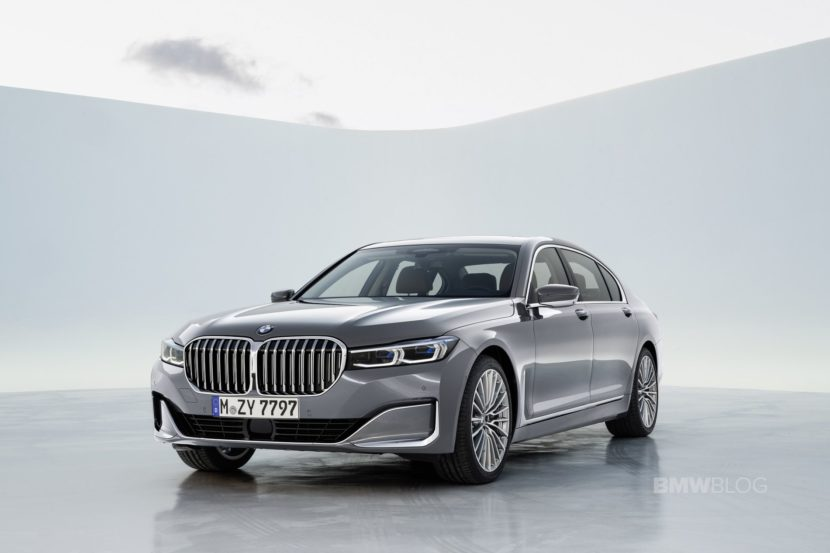 2019 BMW 7 Series Facelift exterior 20 830x553