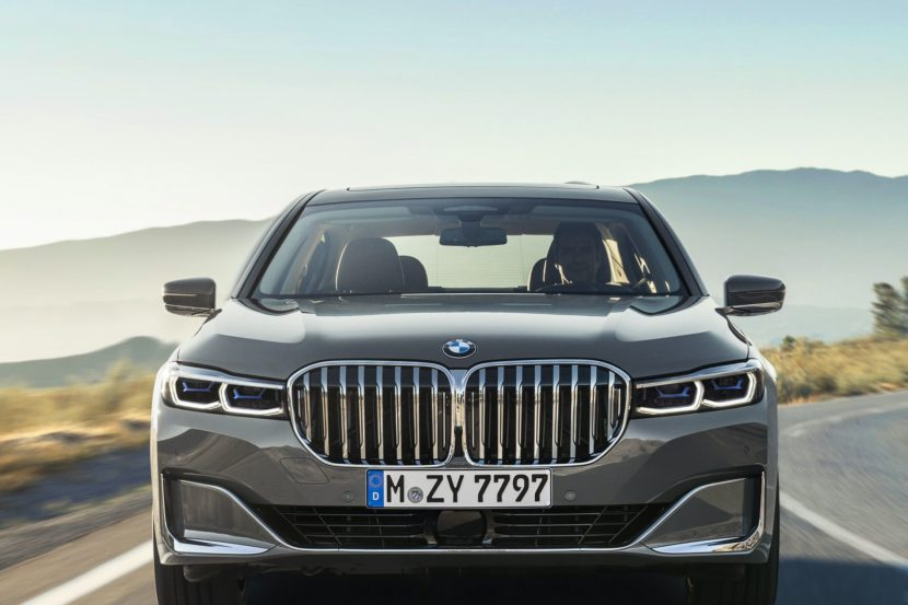 2019 BMW 7 Series Facelift exterior 28 830x553